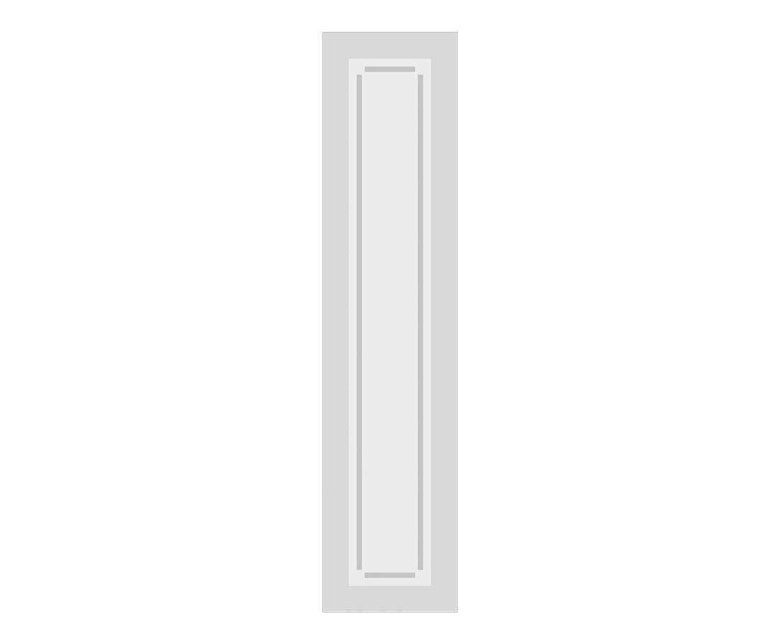 Витраж Анита 548x128 для фасада 716х296