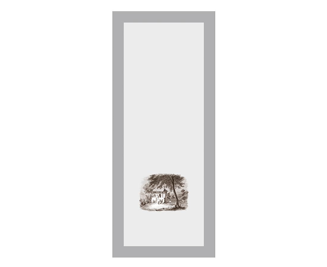 Витраж Пастораль 548x228 для фасада 716х396