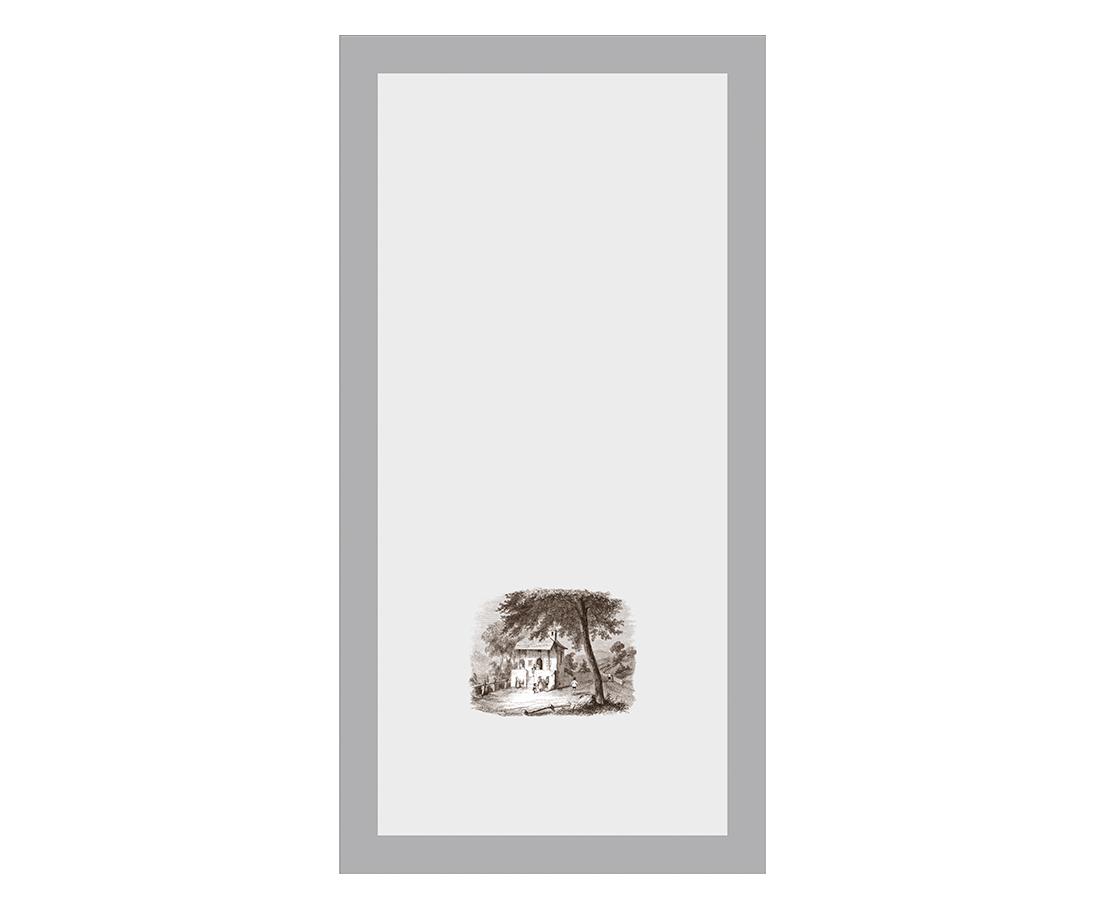 Витраж Пастораль 548x278 для фасада 716х446